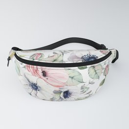 FLOWERS WATERCOLOR 29 Fanny Pack