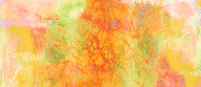 Pastel Imaginings 3 Colorful Pretty Spring Summer Orange Yellow Peach Abstract Watercolor Painting Coffee Mug