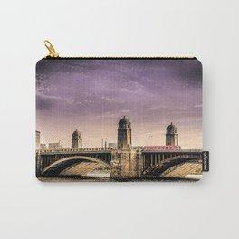 Longfellow Bridge, Boston MA Carry-All Pouch