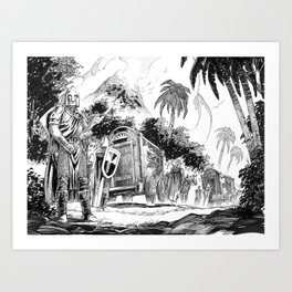 The Jungle Caravan Art Print