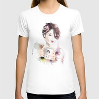 cup T-shirts featuring cup by tatiana-teni