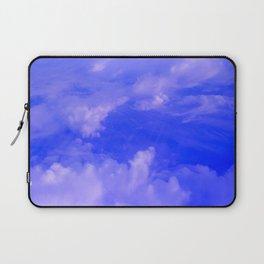Aerial Blue Hues III Laptop Sleeve