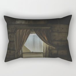 my window looked out upon nothing Rectangular Pillow