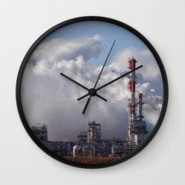 Nova Chemical Plant Wall Clock