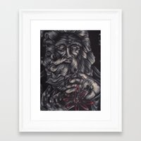 atheist Framed Art Prints featuring Jaded Art by Jaded Art    By James Schreck