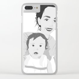 If You Would Only Move Like You Had Something To Lose Clear iPhone Case