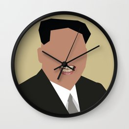 FOGS's People wallpaper collection NO:02 KIM JONG UN Wall Clock
