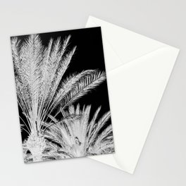 Palm Trees B&W Stationery Cards