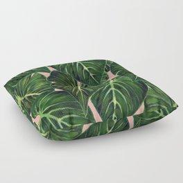 Tropical II Coral Floor Pillow