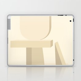 Shape study #12 - Stackable Collection Laptop & iPad Skin