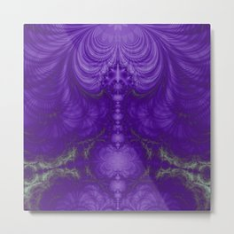 Fractal Abstract 60 Metal Print