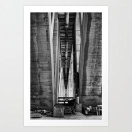 Key Bridge Art Print