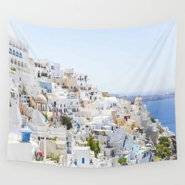 Fira, Santorini Greece Wall Tapestry