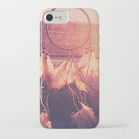 dream catcher iPhone & iPod Cases featuring Dream Catcher by Whitney Retter
