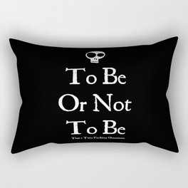 Bard Grammar Rectangular Pillow