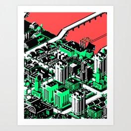 SimCityscape 04 Art Print