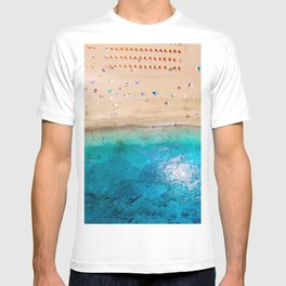 AERIAL. Summer beach T-shirt