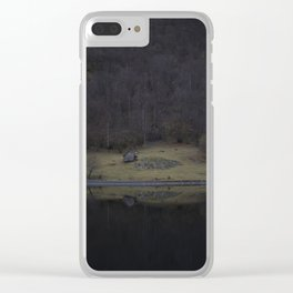 Violet island (Fjord) Clear iPhone Case