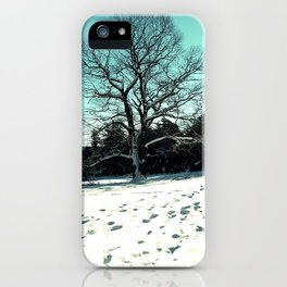 Wise Winter Tree iPhone Case