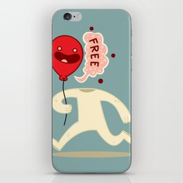 Free Guy iPhone Skin