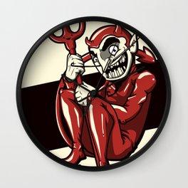 Mr. Devil Wall Clock