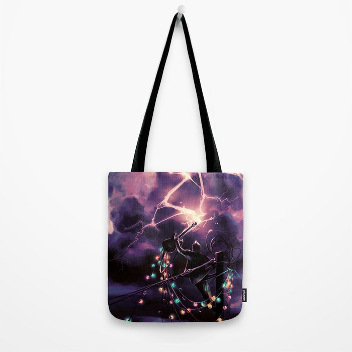 Defy the sky Tote Bag