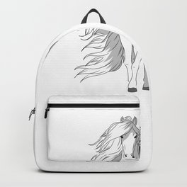 Mare Horse Owner Riding Rider Backpack