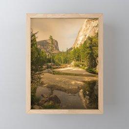 Yosemite Valley California, United States Framed Mini Art Print