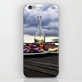 Rosé in the Storm iPhone Skin