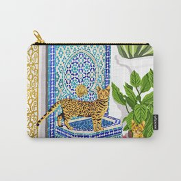 Royal Cats Carry-All Pouch