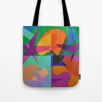 transparent Tote Bags featuring Transparent by Mallory Pearson