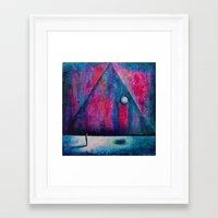 portal Framed Art Prints featuring Portal by Sylwia Borkowska