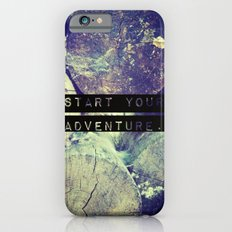 Start Your Adventure iPhone 6s Slim Case