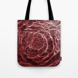 Dark Pink Light Ray Tote Bag