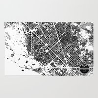 barcelona Area & Throw Rugs featuring Barcelona by Maps Factory