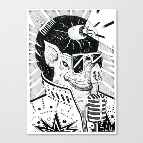 cerdo soulero Canvas Print