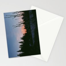 Mirror Lake Sunset (Mt. Hood) Stationery Cards