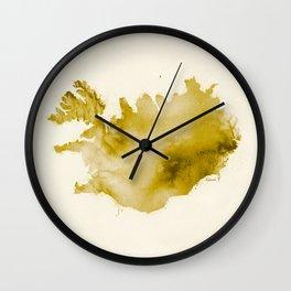 Iceland v2 Wall Clock
