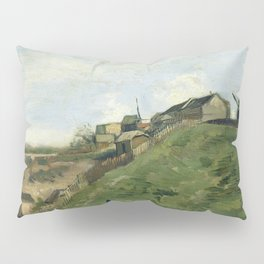The Hill of Montmartre with Stone Quarry by Vincent van Gogh Pillow Sham