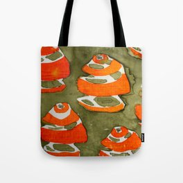 Orange Feel Tote Bag