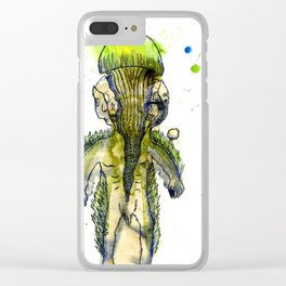 You will kiss both of your shoulders at the same time. Clear iPhone Case