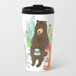woodland teatime Travel Mug