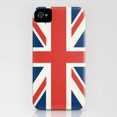 Union Jack UK Flag Slim Case iPhone (4, 4s)