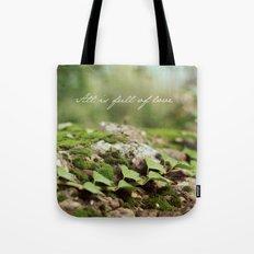 Full of love Tote Bag