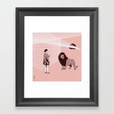 Somnambulism Framed Art Print