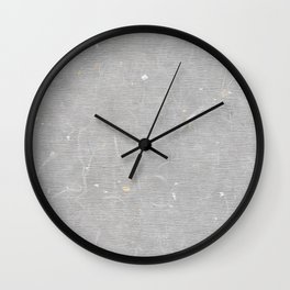 Hanji charcoal ver. Wall Clock