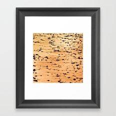 Rocks on the Shore Framed Art Print