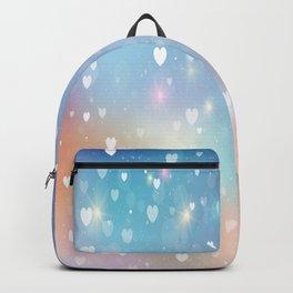 Heart Colorful Design Backpack