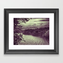 View from Camp Dudley, Westport NY Framed Art Print