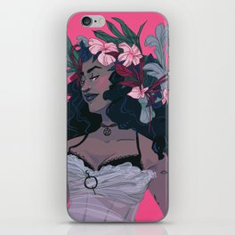 Flower Witch iPhone Skin